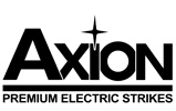 Axion Electric Strikes logo for print